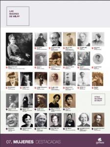 Panel mujeres destacadas
