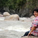 Honduran environmental and human rights defender Berta Cáceres