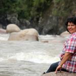 Honduran environmental and human rights defender Berta Cáceres