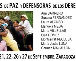 Curso Constructoras de Paz en Zaragoza