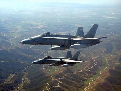 No usen la base aérea de Zaragoza para apoyar bombardeos en Siria