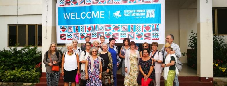 WILPF España en el Congreso de WILPF en GHANA