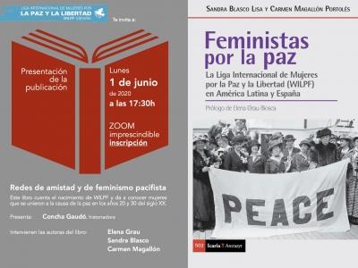"""Presentación del libro """"Feministas por la paz"""""""