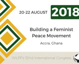 Congreso WILPF 2018 en GHANA