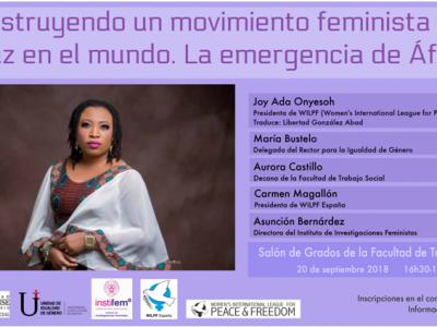 Construyendo un movimiento feminista por la paz en el mundo. La emergencia de África
