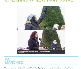 Carta de fin de año a nuestras miembros: creando una nueva narrativa