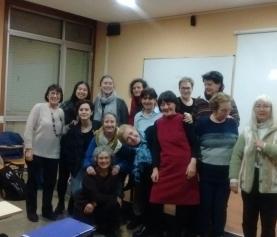 Reunión de WILPFeras de Aragón