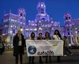 WILPF España participa en el paro laboral y la manifestación del Día Internacional de la Mujer
