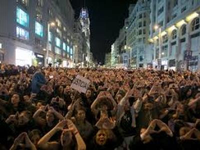 """Compromiso = Presupuesto """"Manifiesto de la Movilización Feminista del 16 de mayo de 2018"""""""
