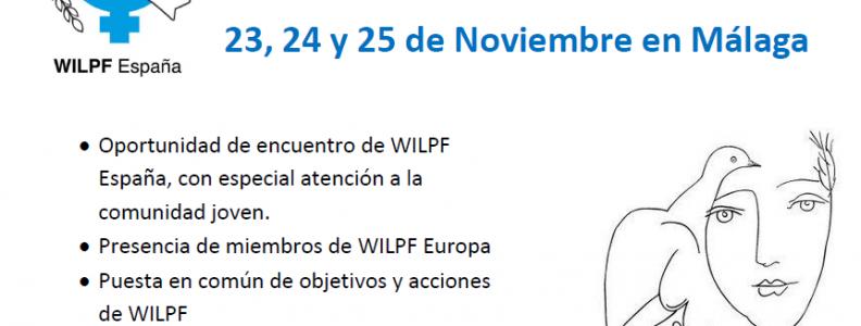 """I Encuentro """"Jóvenes WILPF"""" España"""